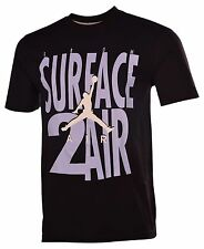 Jordan Men's Nike Surface 2 Air Jumpman T-Shirt-Black