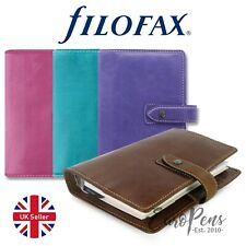 Filofax Malden Personal Size Leather Organiser - Choose colour