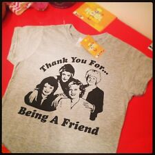 The Golden Girls 'Thank you for being a friend' inspired Ladies T-shirt