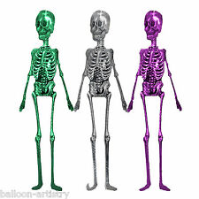 6ft Halloween Party Horror Holographic Skeleton Jointed Cutout Party Decoration