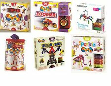 Great Gizmos ZOOB 15 to 60 piece variation Sets Construction Game & Motor Skill