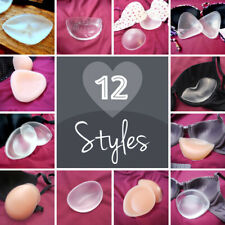 BOOST THOSE BREASTS! 12 LOVELY STYLES! Breast enhancers/chicken fillets for bras