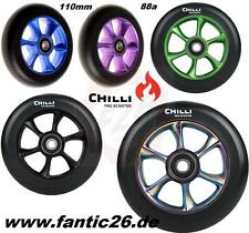 Chilli Forged Jet Wheels turbo Stunt-Scooter Freestyle Roller Wheel 110mm Abec9