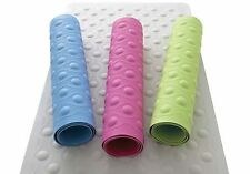 Long Bath Mat Rubber Floor Non Slip Rubber Suction Cup Grip Safety Stylish Soft