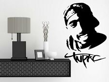 Tupac Shakur 2Pac - Large Vinyl Wall Stickers Amazing Decal. Many colours New UK