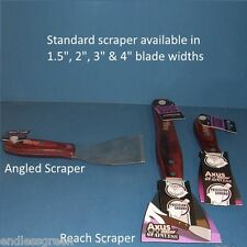 Axus Decor hardwood handle Scraper - for paint & varnish stripping wood surfaces