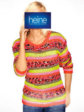 Pullover B.C. Best Connections by heine. Pink-bunt. NEU!!! KP 49,90 € SALE%%%