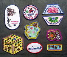 Girl Guide/ Girl Scout Fun/ Activity/ District /Area Patches/ Badges - Choice B