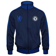 Chelsea FC Official Football Gift Mens Retro Track Top Jacket