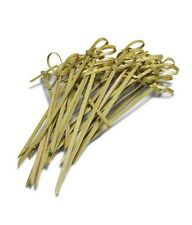 12cm Bamboo Knot Skewers Cocktail Sticks Ideal Canape Buffet Party Tableware