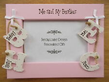 Personalised BFF, Friends, Best Friends Forever 6X4 Photo Frame