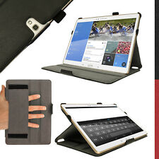 """PU Leather Folio Case for Samsung Galaxy Tab S 10.5"""" SM-T800 SM-T805 Flip Cover"""