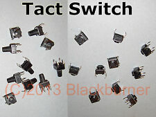 5,10St. Microtaster Tactile Tact Switch Microschalter Taster Ww. 6x6x5mm/6x6x9mm