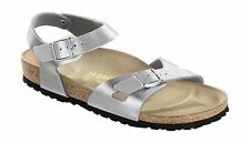 Birkenstock Rio Ladies 2 Strap Mules Womens Summer Sandals Birko Flor Buckle