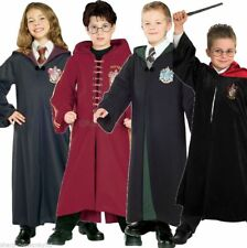 Girls Boys Harry Potter Hermione Deluxe Robe Book Day Fancy Dress Costume Outfit