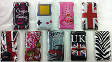 London Designer Hard Back Skin Case Cover iPod Touch 4 4th Generation