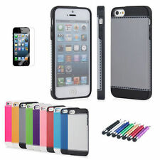 NEW ULTRA THIN BACK CASE FOR iPHONE 5 5G + FREE SCREEN GUARD + MINI STYLUS
