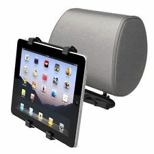 "UNIVERSAL HEADREST 3 SIDED BACK SEAT CAR HOLDER FOR iPAD AND OTHER 7-10"" TABLETS"