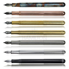 KAWECO LILIPUT FOUNTAIN PEN - Available in various metal finishes