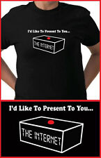 The IT Crowd I'd Like to Present to you...The Internet! Inspired Comedy T-shirt