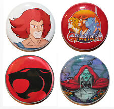 "1"" (25mm) Thundercats Button Badges 80 & 90's Retro Kids TV - HIGH QUALITY"