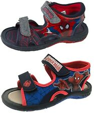 Kids Boys Spiderman Summer Sandals Slip On Beach Clogs Mules Holiday Shoes Size