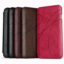 KLD Card Slot PU Leather Flip Case Leder Tasche Hülle For Apple iPhone 6 Plus