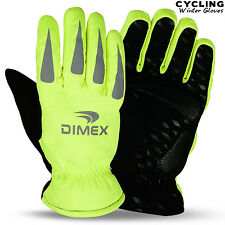 Cycling Gloves Windproof Winter Cold Weather Bicycle Sports Bike Full Fingers