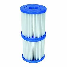 BESTWAY FILTER SIZE 1 TWIN PACK 3.1 X 3.5 INCH 300/330 GAL PUMP CARTRIDGE NEW
