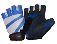 J2X Fitness Metz Padded Half Finger Cycling Mitts Gloves