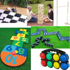 NEW LARGE FAMILY GIANT GARDEN GAMES OUTDOOR SUMMER BEACH BBQ PARTY FUN KIDS