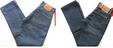LEVI Vintage Jeans Girls Red Tab Button Fly 535 Standard Fit St Wash, Distressed