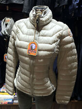 PARAJUMPERS ITALY NEW GEENA WOMEN'S LIGHT DOWN JACKET, 100% GENUINE, SILVER