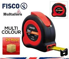 Fisco/Hultafors 8m 26ft or 5m 16ft TUF-LOK HI-Viz Metric/Imperial Tape Measure