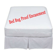Mattress Encasement Cover Protector Bed bug Proof Single Small Double King