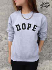 * DOPE Sweatshirt Sweat Pull Tendance Tumblr Swag Fresh Trill Hype Sick *