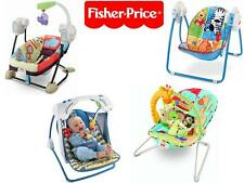 Fisher Price Spacesaver Swing & Seat Animals Deluxe Take Along Swing Bouncer