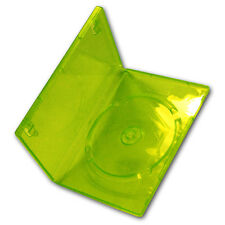 New Xbox 360 Replacement Game Cases Transparent  Green for Microsoft XBOX 360