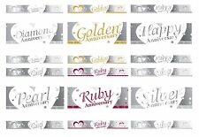 Creative Party Foil Banner 9 ft Engagement/Anniversary/Wedding/Love/Heart