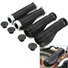 Double Lock On Locking BMX MTB Mountain Bike Cycling Bicycle Handle Bar Grip End