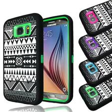 Hybrid Armor ShockProof Protective Combo Box Case Cover For Samsung Galaxy S6