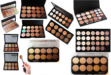 6/10/15/20/28 Face/Eyes Concealer Corrector Cream, Powder Palette and Brushes