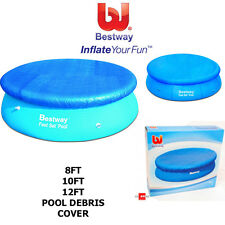 BESTWAY FAST SET EASY SET SWIMMING POOL DEBRIS COVER DRAIN HOLES HEAVY DUTY NEW