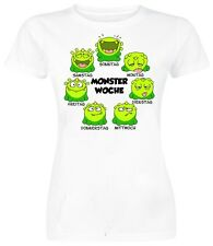 MONSTER WOCHE - LADY T-SHIRT - LUSTIGES FUN SHIRT - FRUIT OF THE LOOM