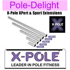 X Pole Chrome Extensions For 45mm  LATEST VERSION  X Pole XPert & X-Pole Sport