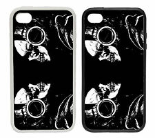 Headphone Skulls - Rubber and Plastic Phone Cover Case