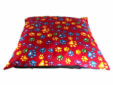 "DOG BED 28"" SQUARE PET CUSHION Various Design & Colours"