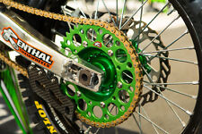 Renthal Chain And Green Sprocket Kit KX KXF 125/250/450/500 85-15 Motocross