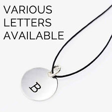 Urban Outfitters Silver-Plated Initial Necklace - Various Letters - RRP £10 New