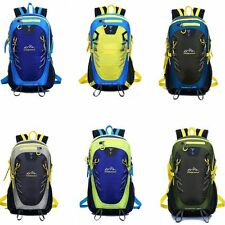 outdoor waterproof hiking travel rucksack camping backpack 40L+ Survival whistle
